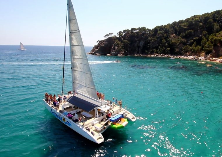 Catamaran Party Barcelone