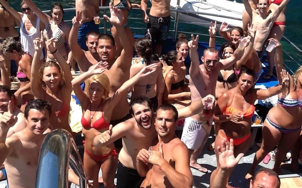 Pack bateau + fête nocture à Platja d'aro