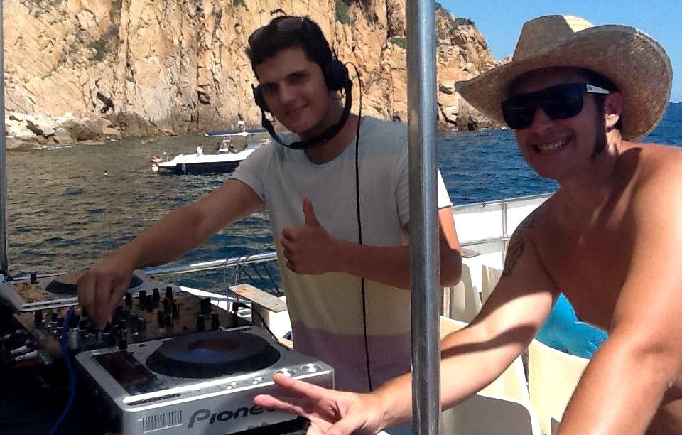Pack bateau + DJ  à platja d'aro
